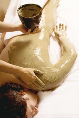 Full body mud wrap