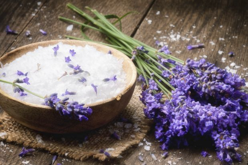 lavender-honey-salt-scrub-from-DIY-organic-beauty-book