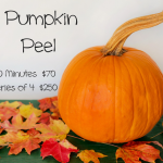 Pumpkin Facial Peel