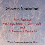 Holiday Nominations!